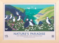 Pembrokeshire National Park 60th Anniversary Posters